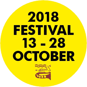 15% off the 2017 Festival 7th to 22nd October!
